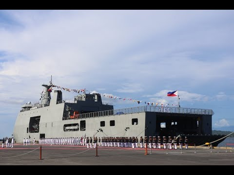 Philippine Navy has launch new vessel and helicopter for retake Marawi City from the Group terrorist