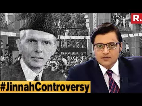 Is Jinnah Controversy Pre-Planned? | The Debate With Arnab Goswami