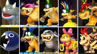 New Super Mario Bros. 2 - All Castle Bosses + Ending
