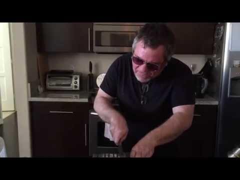 Max Koch Sharpens Knives to Marilyn Manson