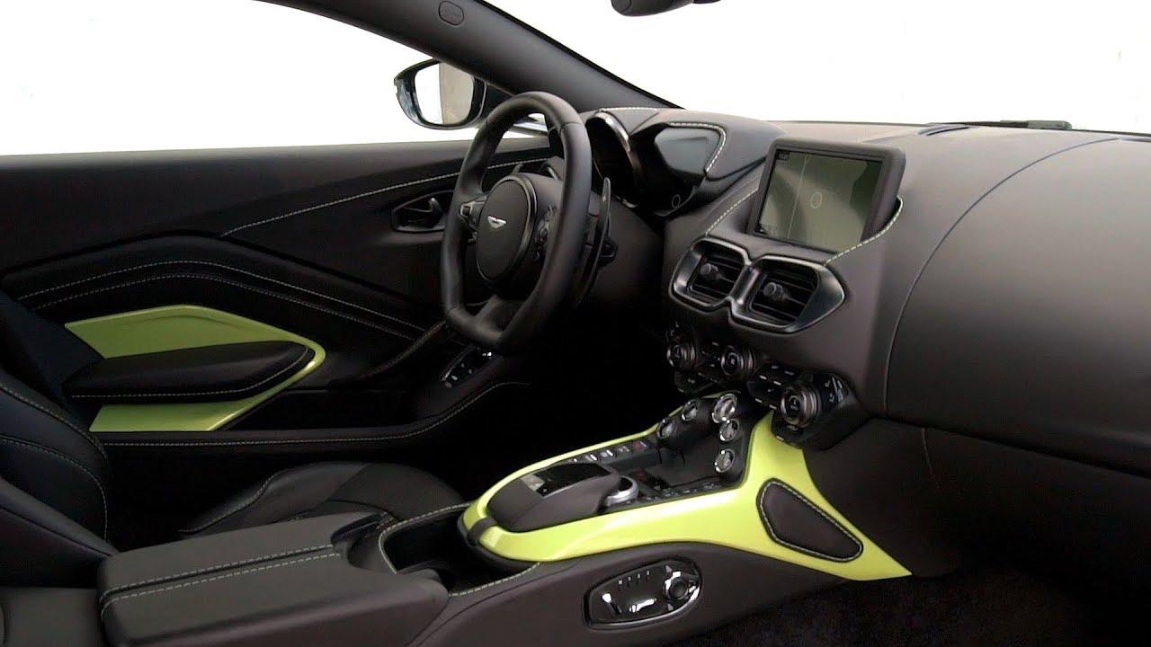 2019 Aston Martin Vantage Interior Youtube