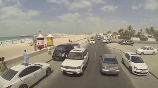 Dubai Big Bus City Tour Sheikh Zayed Palm Jumeirah Drive HD 2013