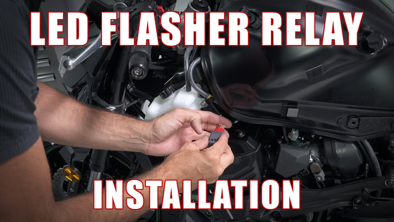 How To Install An Led Flasher Relay On A Kawasaki Z800 By Tst Wiring Industries
