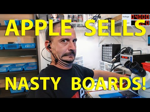 Fixing an iPhone 7 that won't turn on (A nasty refurb!)