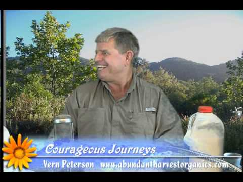 Courageous Journeys looks at Raw Milk benefits and Abundant Harvest Organics