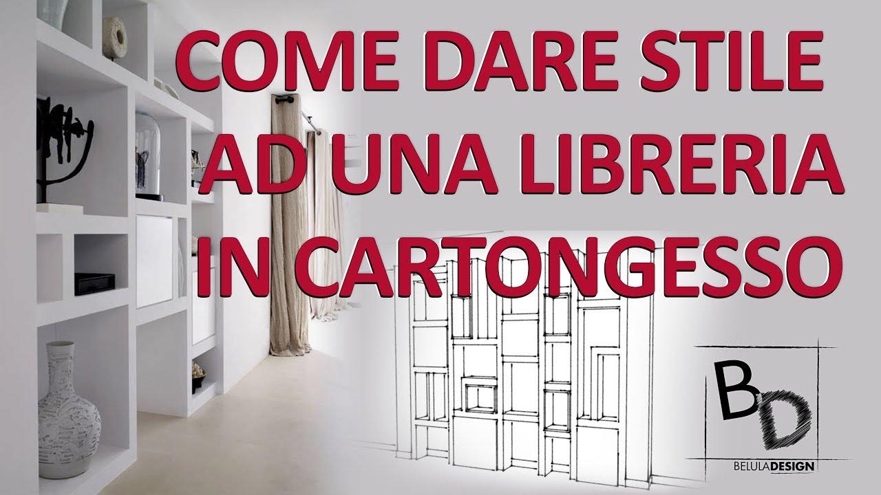 Come Allestire Una Libreria come dare stile ad una libreria in cartongesso | belula design
