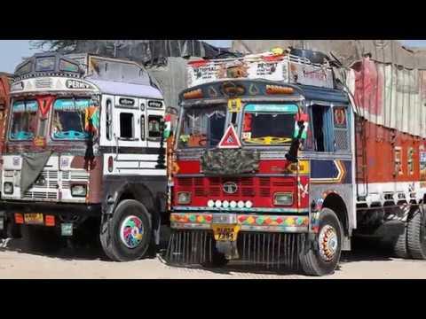 Чудеса тюнинга ИНДИЙСКИХ и ПАКИСТАНСКИХ ГРУЗОВИКОВ / Wonders Of Tuning Indian And Pakistani Trucks