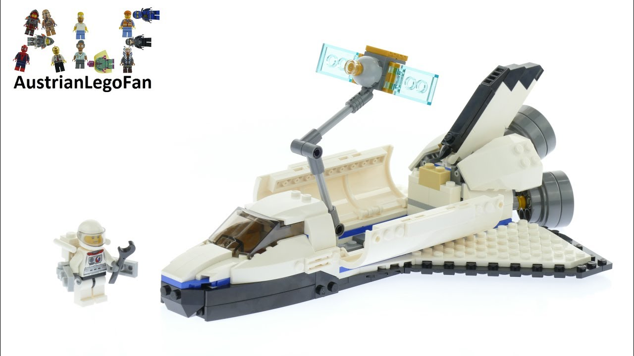 lego creator space shuttle explorer review -#main