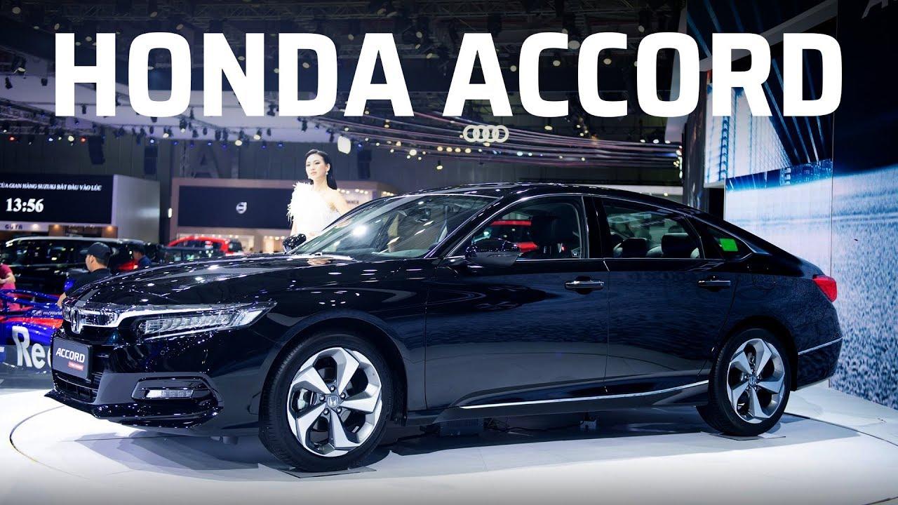 Honda Accord tại triển lãm xe ô tô Việt Nam