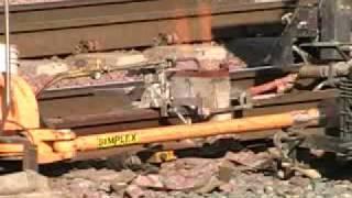 BNSF Thermite Welding in San Bernardino,CA