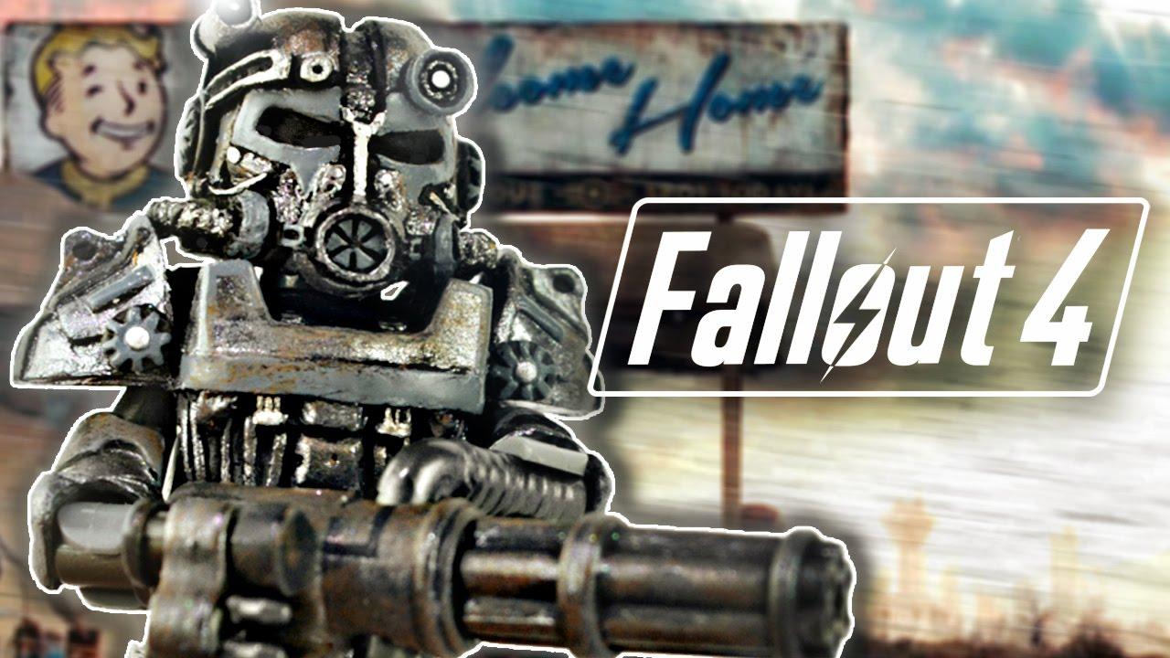 LEGO Fallout (анимация) - YouTube