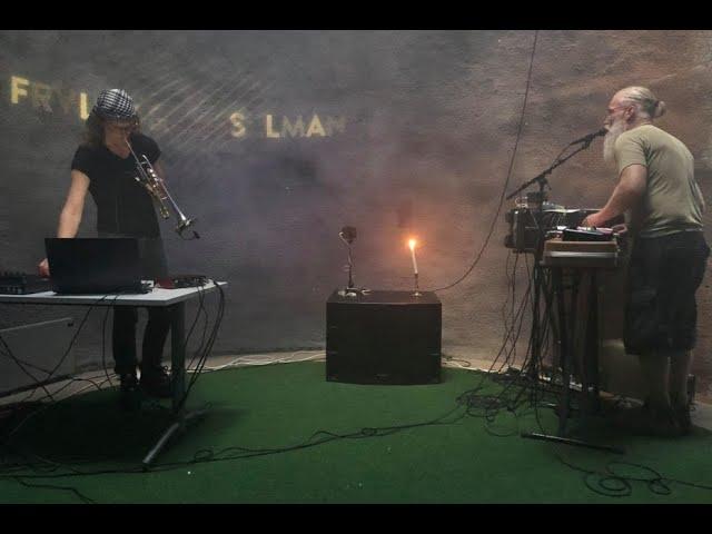 FRVLDZ & Sysselmann free improv live recording for Karlsøyfestivalen Digital Festival 2020