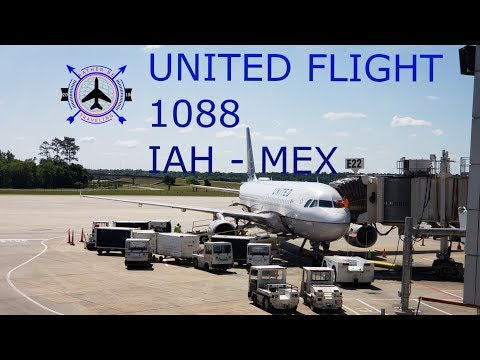TRIP REPORT | UNITED | Airbus A320 | Houston - Mexico City (IAH-MEX) | Business Class | Full Flight