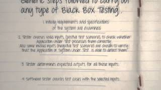What Is Black Box Testing Techniques Example Types