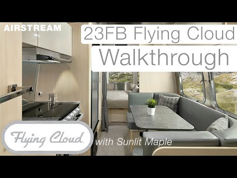 2021 Airstream Flying Cloud | Video Walkthrough of New Sunlit Maple Interior Décor