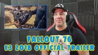 Fallout 76 Trailer - E3 2018 REACTION