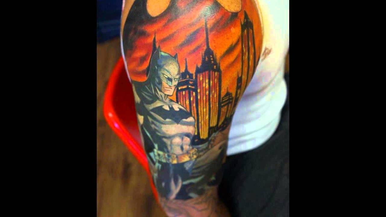 Superman Sleeve Tattoo Designs