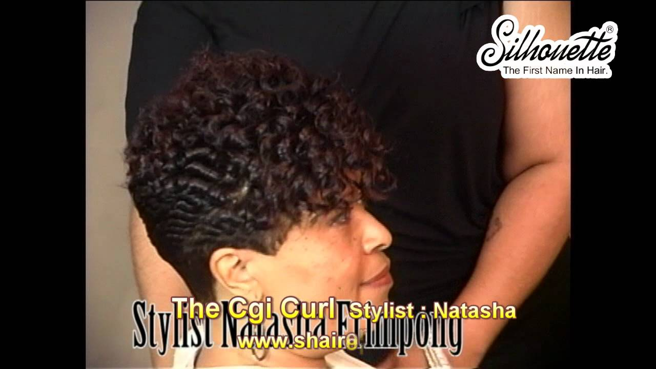 Hair Instructional Video The Chi Curl African American Woman