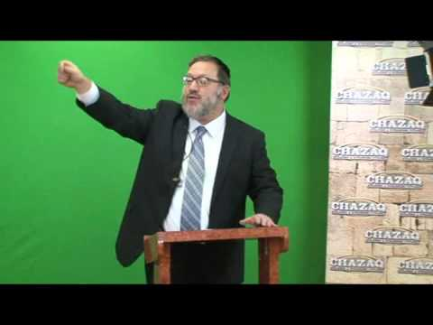 """R' Daniel Mechanic speaking for Chazaq on """"They Have Questions - You Need Answers"""""""