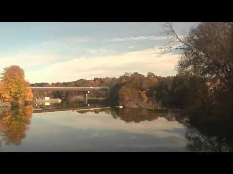 HD: Aboard the 2015 Amtrak Autumn Express - Part 1 of 2, - Albany, NY to East Deerfield, MA