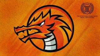 Dragon Sports Team Logo Design Tutorial / How to Design eSports Logo / Adobe illustrator CC
