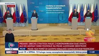 Konferencja premiera o nowych obostrzeniach. Rząd podjął decyzje