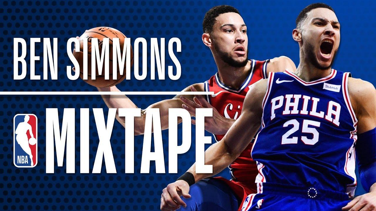 Ben Simmons' OFFICIAL 2018 NBA Season Mixtape   Rookie of the Year