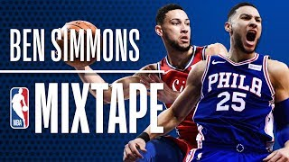 Ben Simmons' OFFICIAL 2018 NBA Season Mixtape | Rookie of the Year