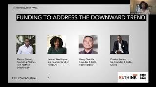 ReThink Austin 2020 - Funding to Address the Downward Trend (Entrepreneurship Panel)