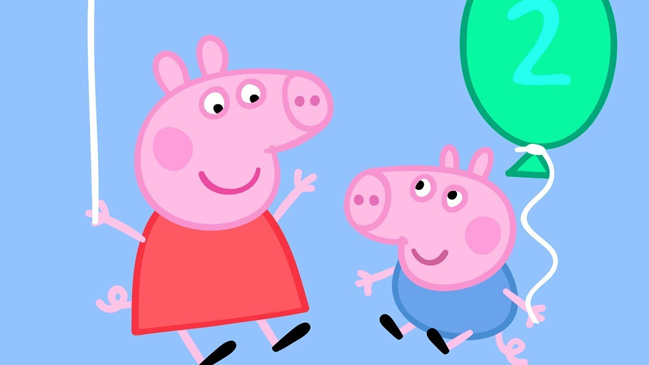 Peppa Pig En Español Cumpleaños De Georges Pepa La Cerdita
