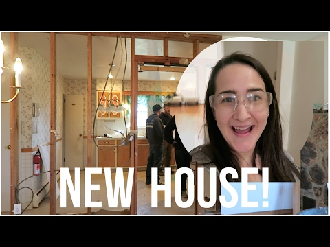 NEW HOUSE! First Look + DEMO! | OUR FIXER UPPER EP. 1