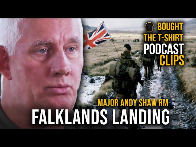 Falklands War - Going Ashore | Major Andy Shaw | Podcast CLIPS