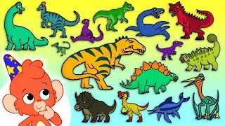 Dinosaur ABC | Learn Dinosaurs for Kids | Dinosaur Alphabet | Dino ABC | Club Baboo