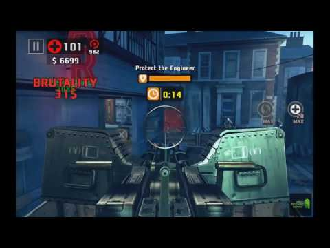 DEAD TRIGGER 2: ZOMBIE SHOOTER| Campaign: Europe:Run Man! Run / Suburban Ride Android Gameplay HD