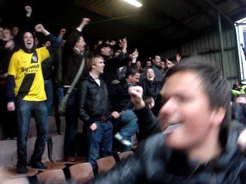 FC Volendam - NAC: Hij zit erin!