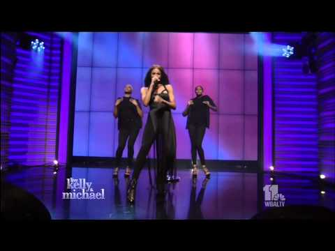 Ciara - Dance Like We're Making Love (LIVE with Kelly & Michael 8-10-15)