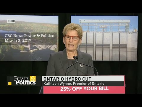 Ontario Liberal Government kicks electricity costs down the road, to be paid by future generations