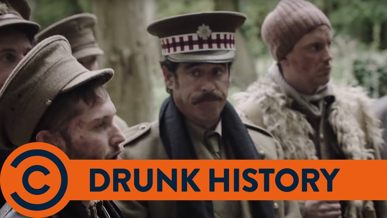 Drunk History Christmas.The Christmas Truce Comedy Central Comedy Central