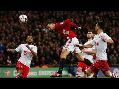 Manchester United vs Southampton 3--2 All Goals & Highlights EFL cup   26⁄02⁄2017