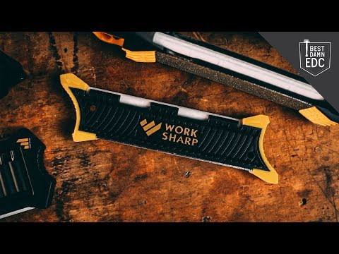 Keep Your EDC Knives Razor-Sharp With Work Sharp