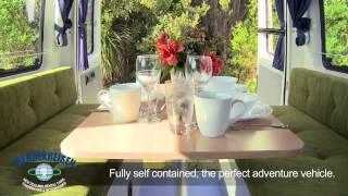2 Berth Campervan Rental New Zealand Wendekreisen XL Hire
