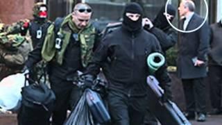 Порошенко прошелся по Киеву с Туском и Грибаускайте