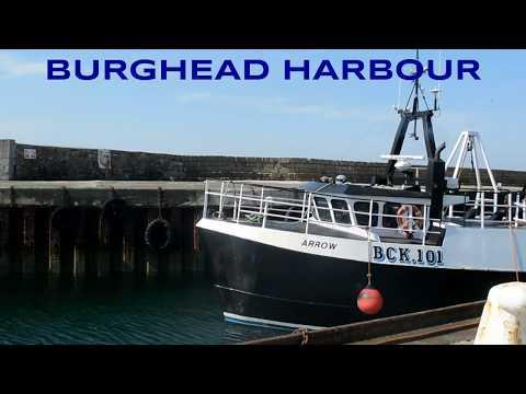 BURGHEAD HARBOUR - BCK.101 ARROW - Time Lapse X2