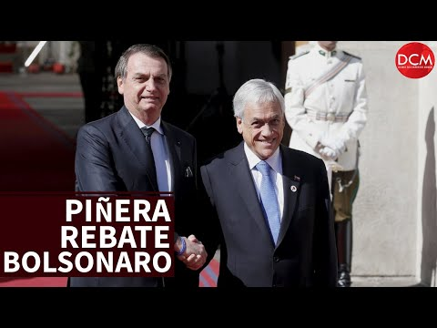 Piñera critica Bolsonaro e isola ainda mais o presidente do Brasil no mundo
