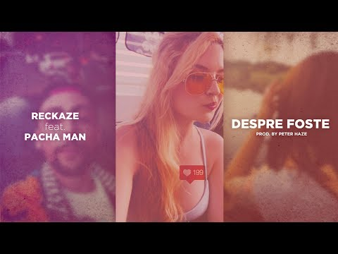 Reckaze feat. Pacha Man - Despre Foste (Portrait Music Video) / prod. Peter Haze