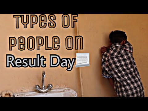 | Types Of People On Result Day | Just Chill Bro |