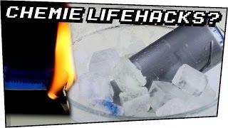 5 LIFEHACKS mit PHYSIK und CHEMIE Hintergrund - Lifehacks #06