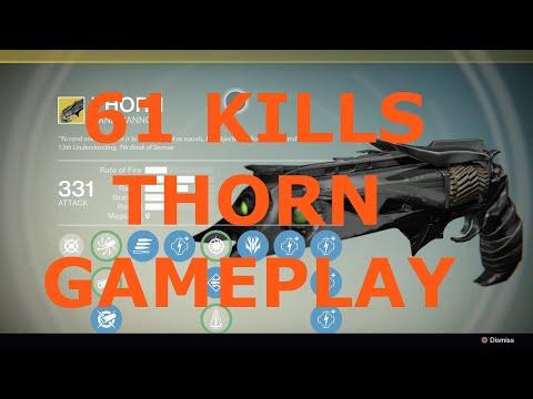 Destiny PvP: 61 kills on Control (Thorn/Final Boss/Corrective Measure)
