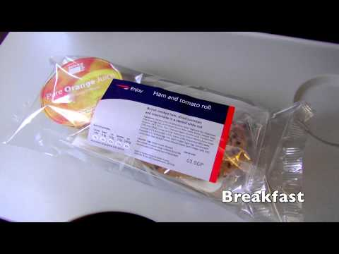 BA906 Euro Traveller LHR - FRA British Airways London to Frankfurt 02,09,11