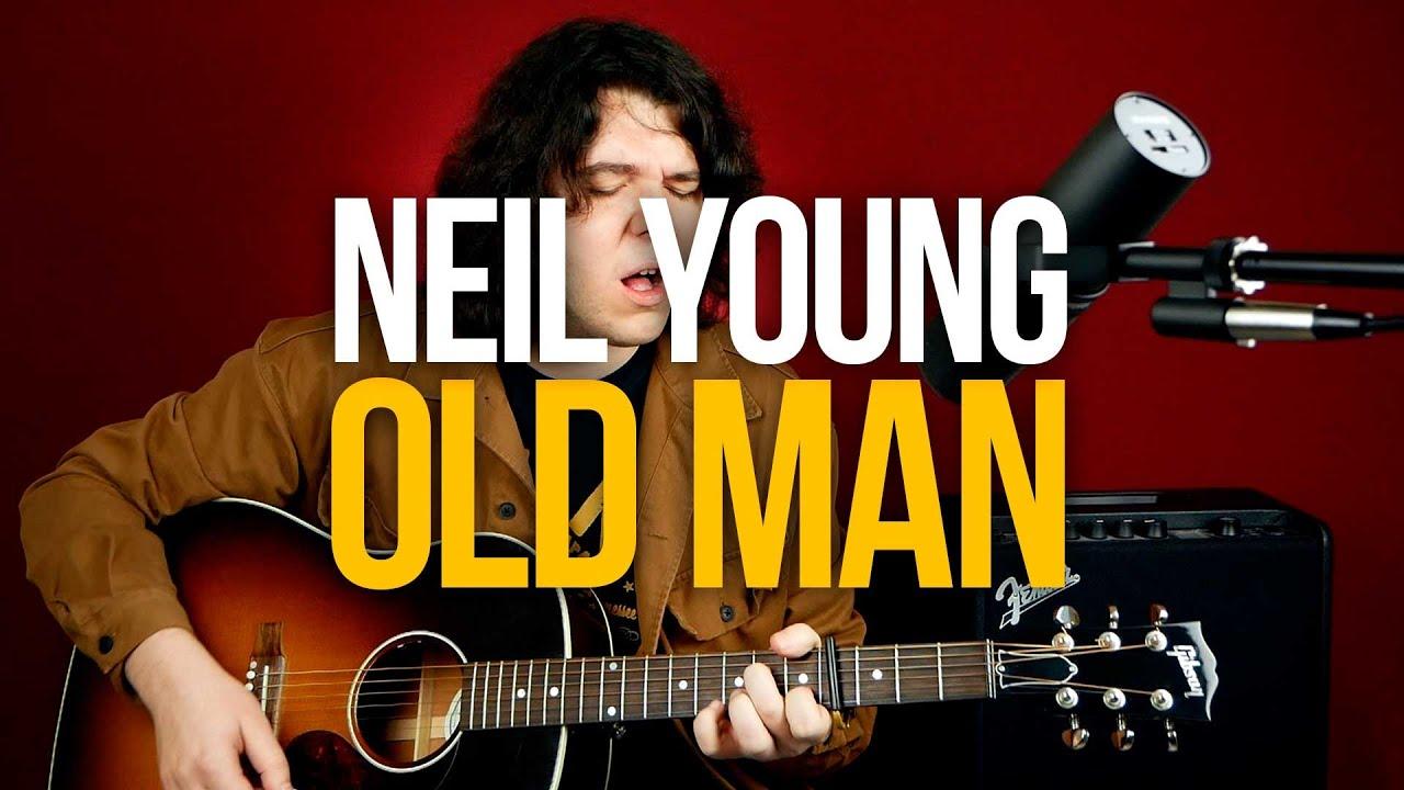Как играть Neil Young -Old Man на гитаре
